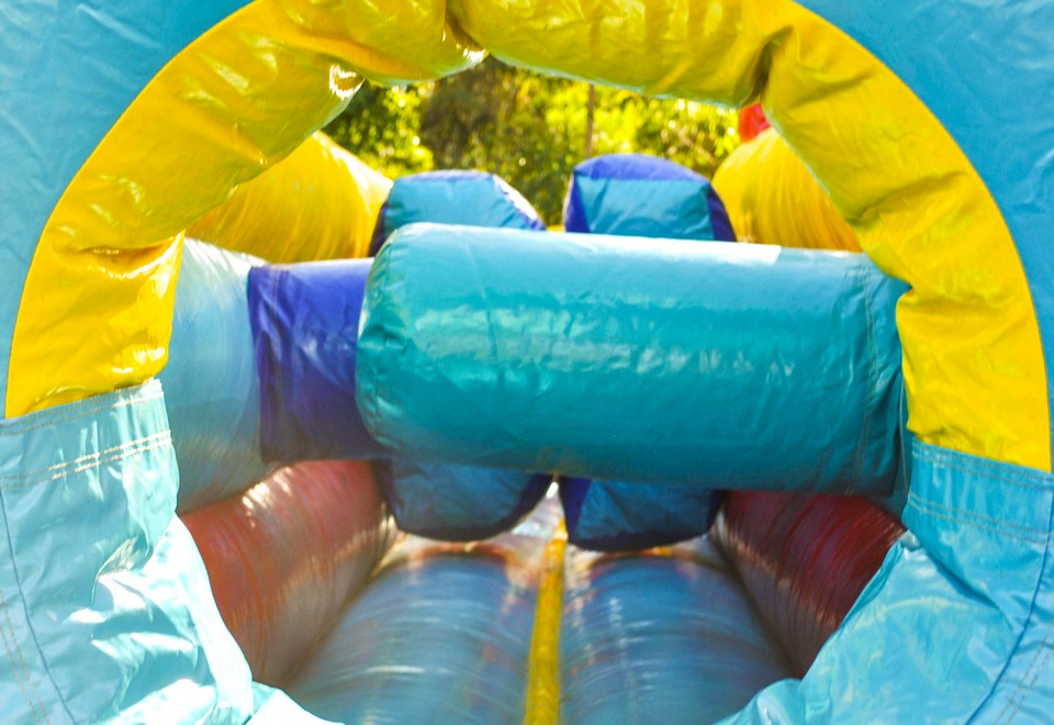 Adrenalin Rush Inflatable Obstacle Course for Hire - Carnival Rides Sydney