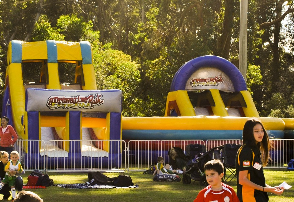 Adrenalin Rush Inflatable Ride for Hire Hawkesbury - Carnival Rides Sydney