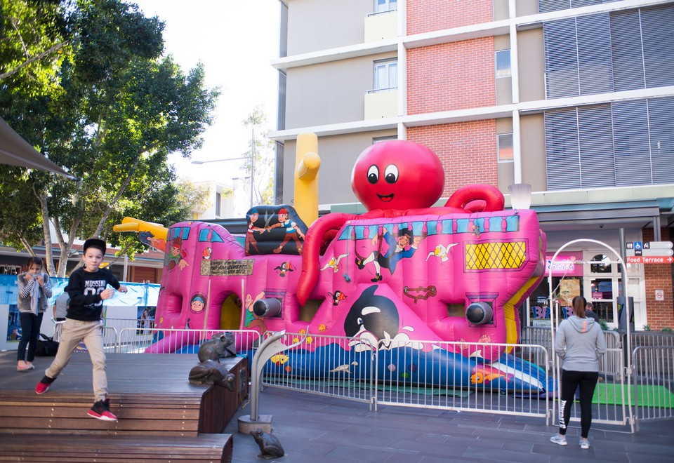 Captain Cooks Endeavour Inflatable Ride for Hire Sydney - Carnival Rides Sydney