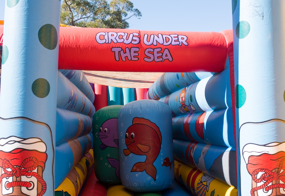 Circus Under the Sea Inflatable Ride for Hire Sydney - Carnival Rides Sydney