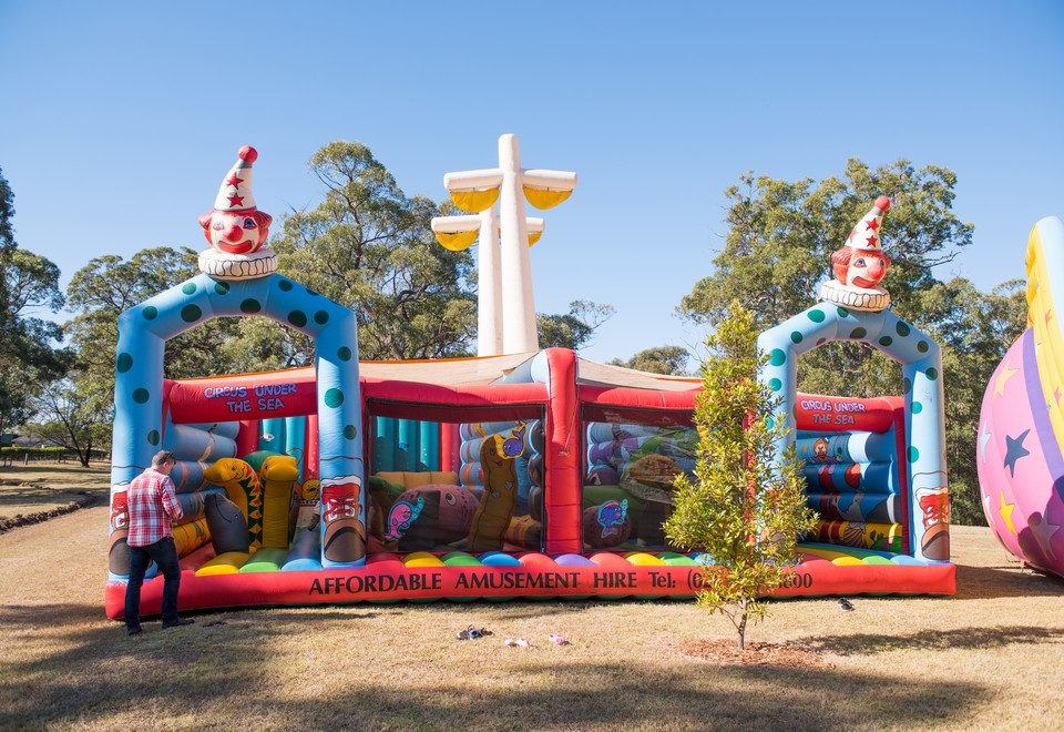 Circus Under the Sea Inflatable Ride for Hire - Carnival Rides Sydney