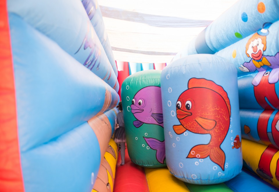 Circus Under the Sea Jumping Castle for Hire - Carnival Rides Sydney
