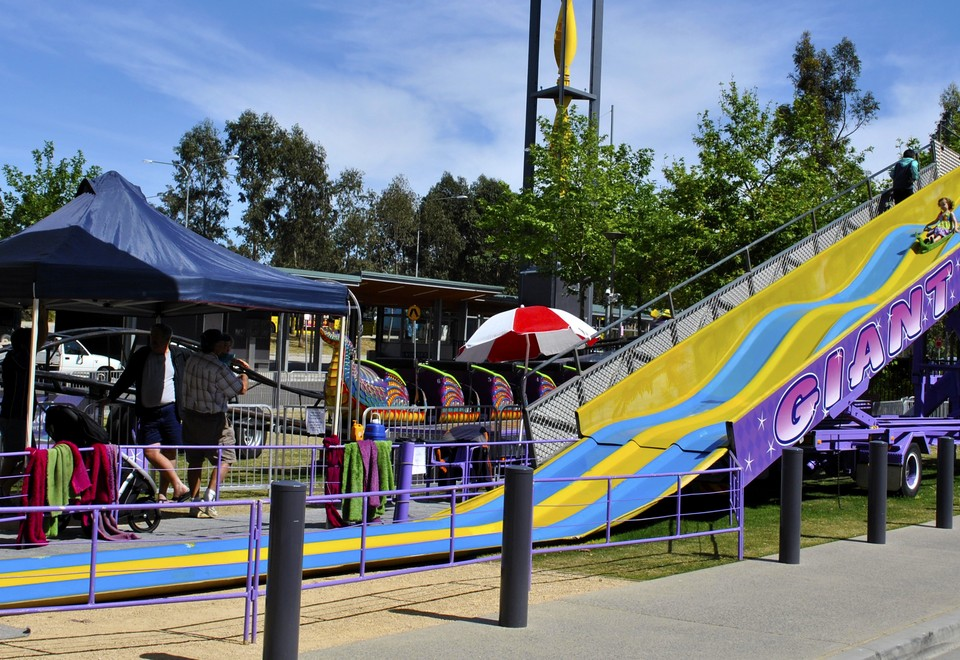 Giant Slide For Hire Sydney - Amusement Rides Hire