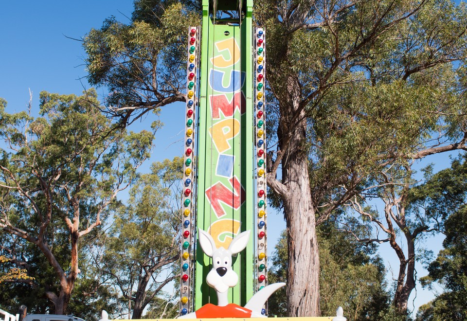 Kangaroo Drop Tower Ride for Hire - Amusement Rides Hire