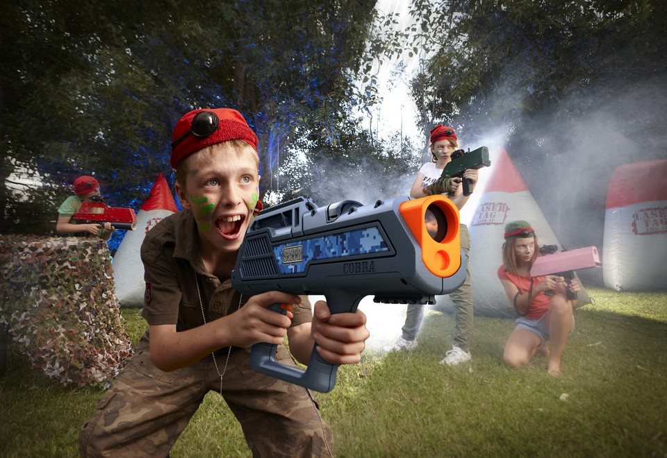 Laser Tag Amusement Ride for Hire - Amusement Rides Sydney