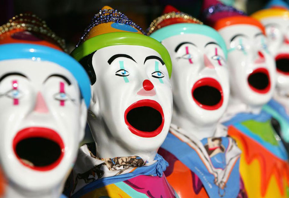 Laughing Clowns for Hire - Carnival Ride Hire