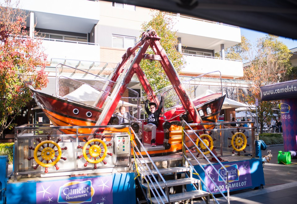 Pirate Ship Ride for Hire Sydney - Amusement Rides Hire