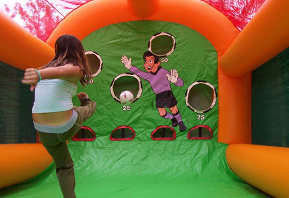 Soccer Shoot Out Amusement Ride for Hire - Amusement Rides Sydney