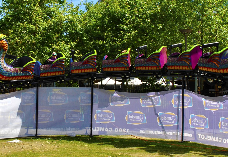 Roller Coaster Mechanical Ride for hire - Amusement Rides Hire
