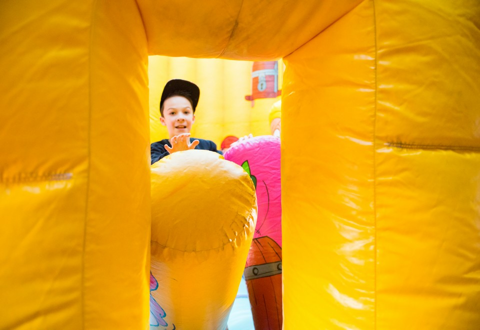 Captain Cooks Endeavour Jumping Castle for Hire - Carnival Rides Sydney