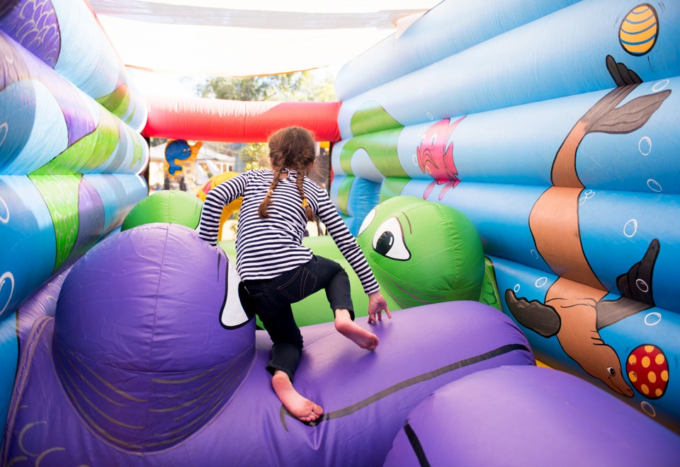 Circus Under the Sea Inflatable Ride for Hire The Hils - Carnival Rides Sydney