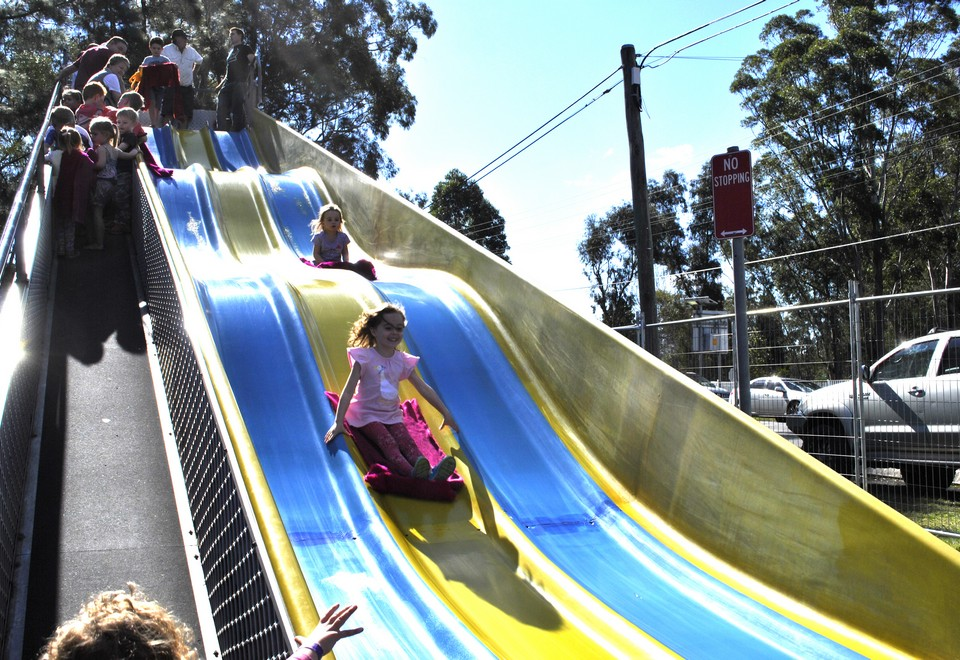 Giant Slide Ride For Hire Hawkesbury - Amusement Rides Hire
