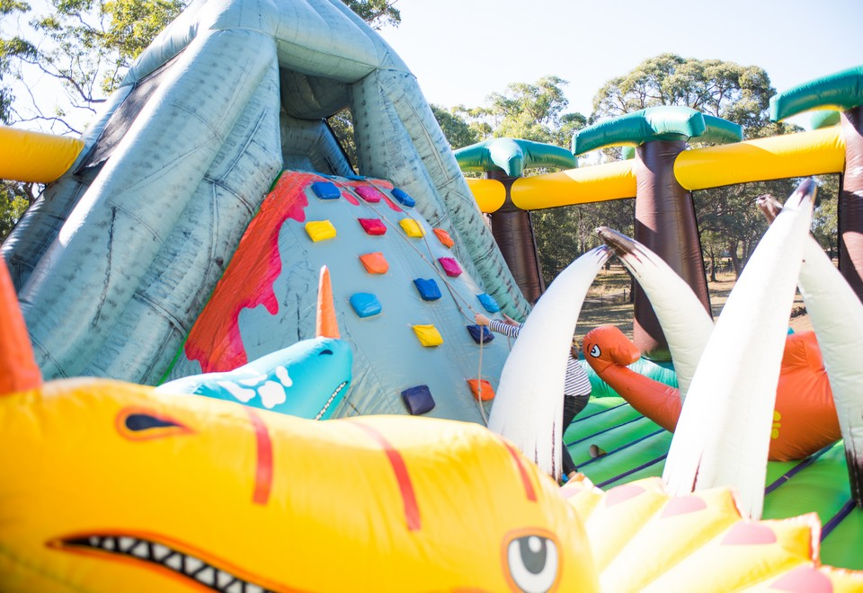 Jurassic Adventure Inflatable Ride for Hire Sydney - Carnival Rides Sydney