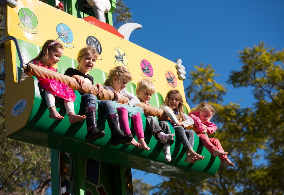 Kangaroo Drop Tower Ride for Hire Sydney - Amusement Rides Hire